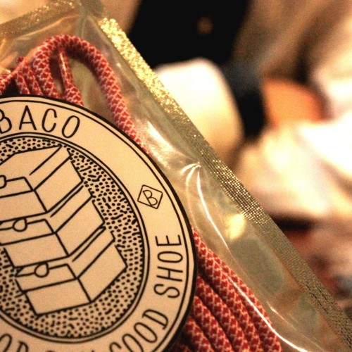 Shoelace Brand「GETABACO」